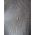Zirkon taşlı gümüş hızma delikli burun için