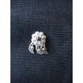 Süryani  hızması malahit taşlı gümüş