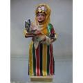yöresel el sanatı taşıyan bebek boy 27.cm en 12 .cm