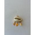 Mardin yöresel nazar boncukları midye kabugundan 14 ayar altın
